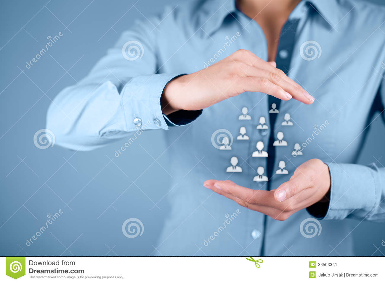 Human Resources And Customer Care Stock Image - Image ...