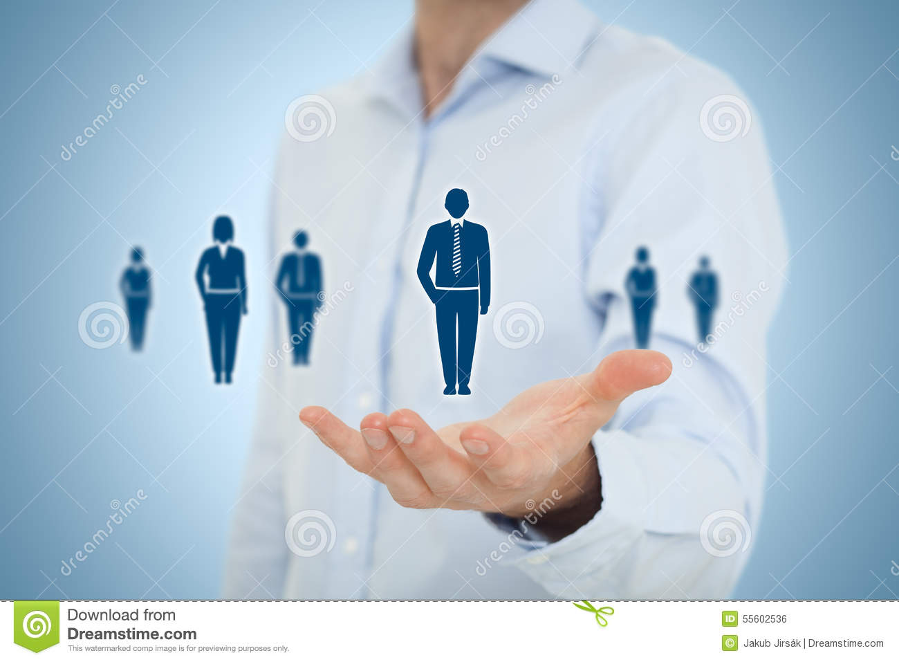 Human Resources And Customer Care Stock Photo - Image ...