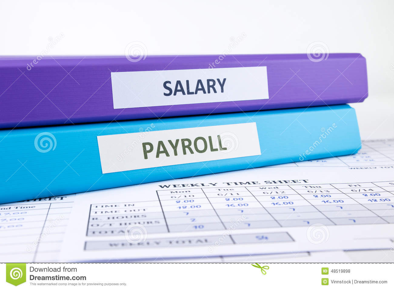 download human resources and payroll documents stock photo image of word employee 48519898