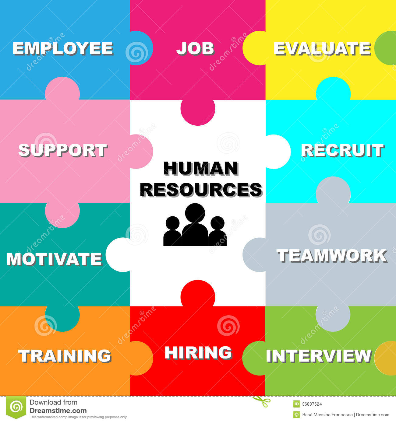 Human Resources: Human Resources Stock Images