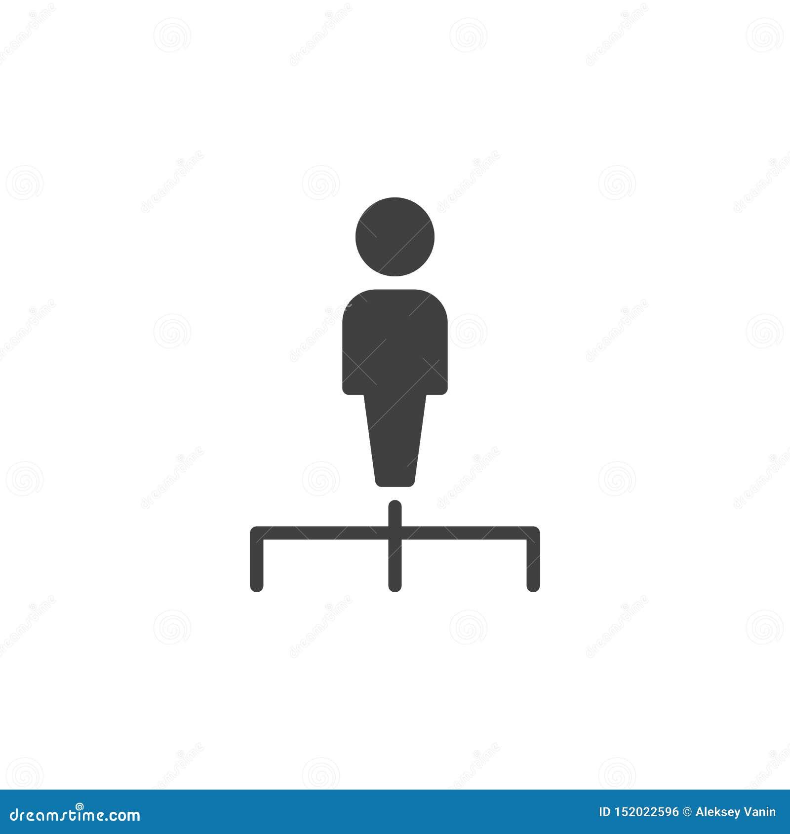 Human resources vector icon