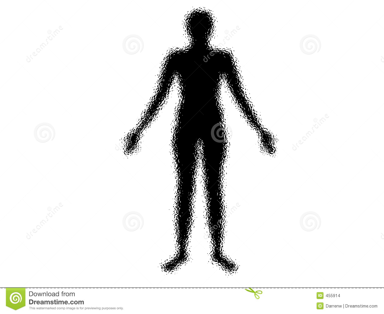 Human Shadow Bw Stock Images Image 455914