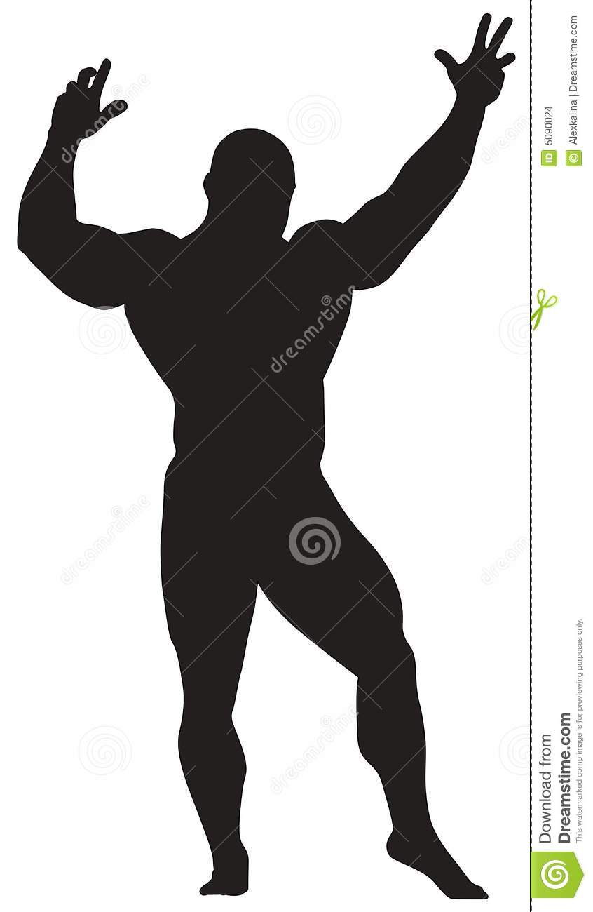Human Silhouette Stock Images - Image: 5090024
