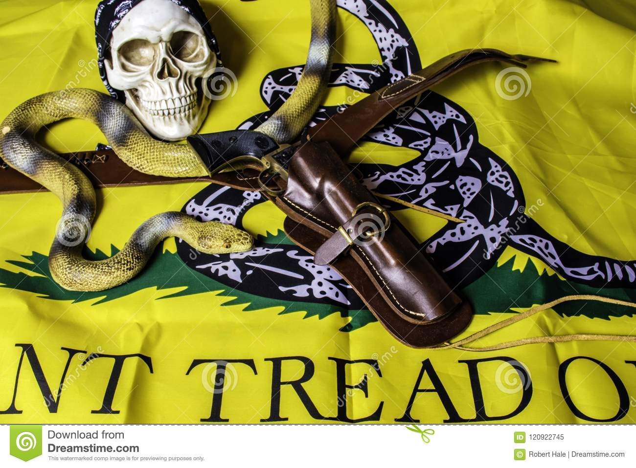 don t tread on me flag stock image image of liberty 120922745