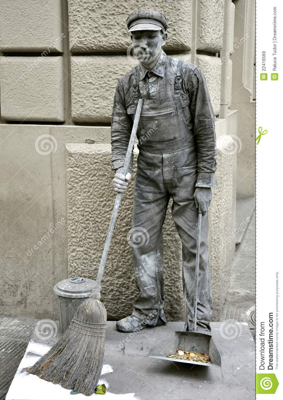 human statue in italy editorial stock image  image of