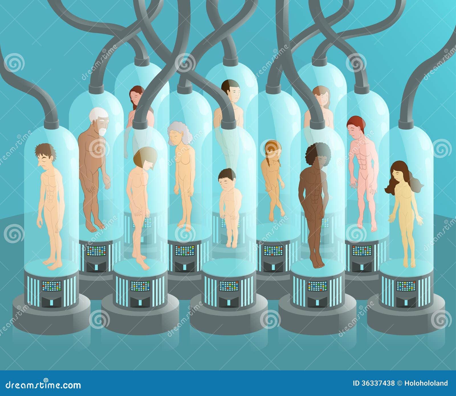 Royalty Free Stock Photos Human Test Tubes Testing Humans Alien Image36337438 on Cartoon Ufo Alien