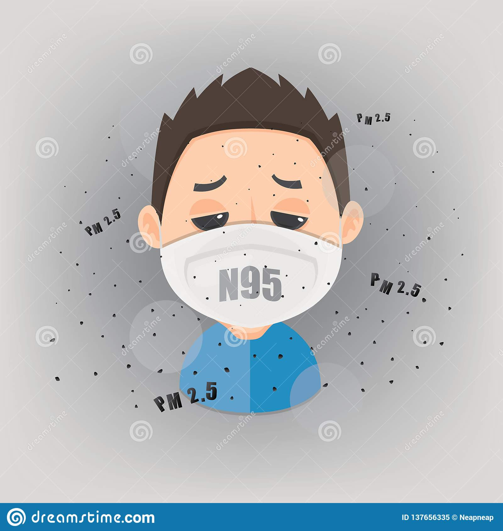 Pollution 5 Mask Air Is Human To Pm Wearing N95 Protect Outdoor 2