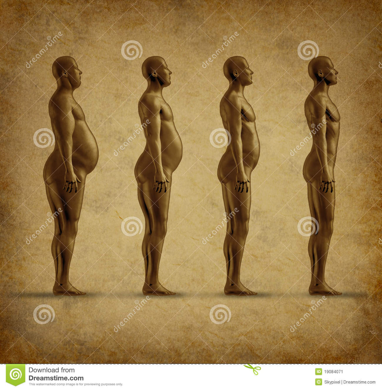 human weight loss grunge stock illustration  image of