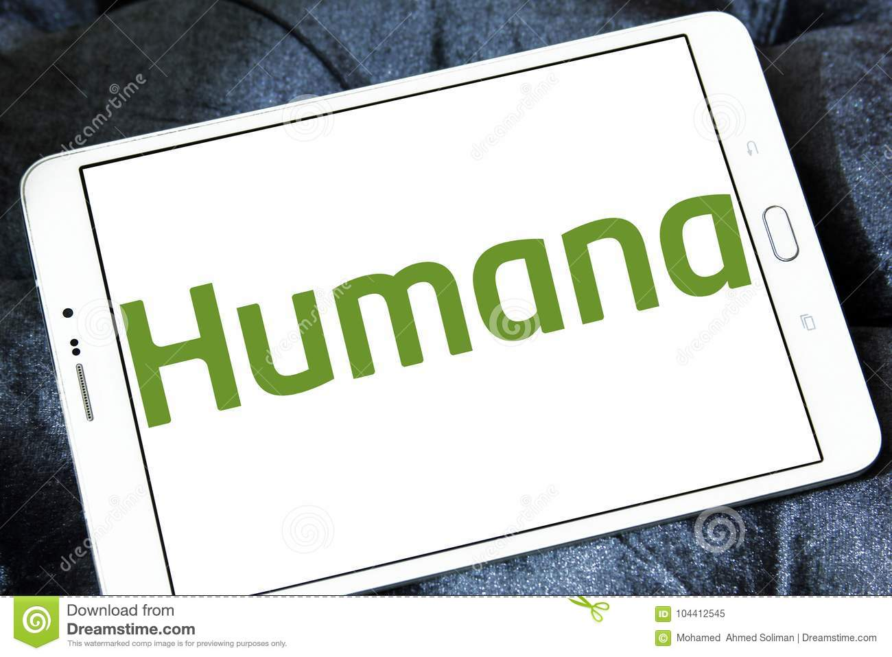 Humana Health Insurance >> Humana Health Insurance Company Logo Editorial Image Image Of