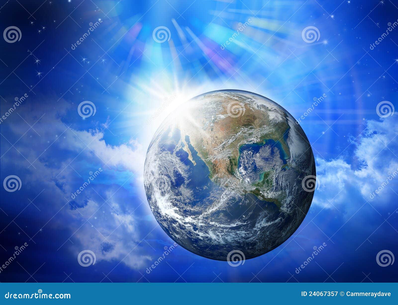Humanité de l espace d univers de la terre
