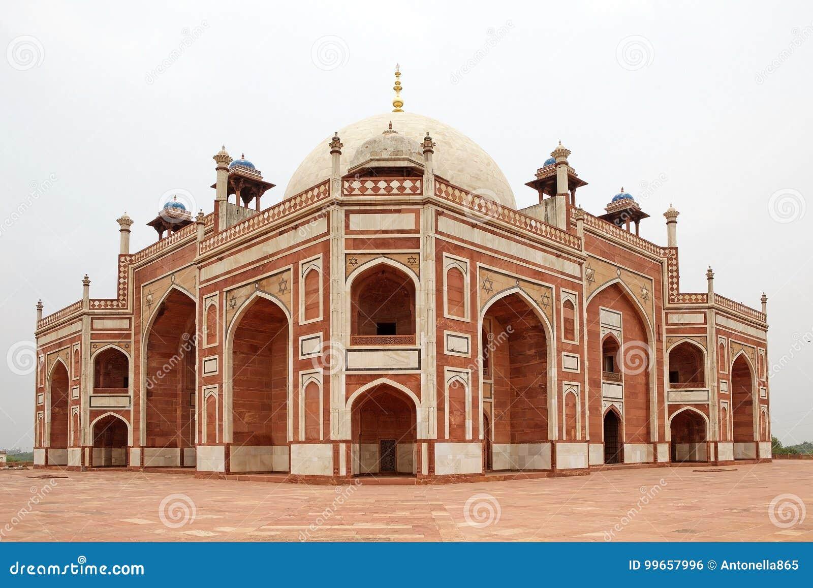 Humayun ` s坟茔,德里,印度