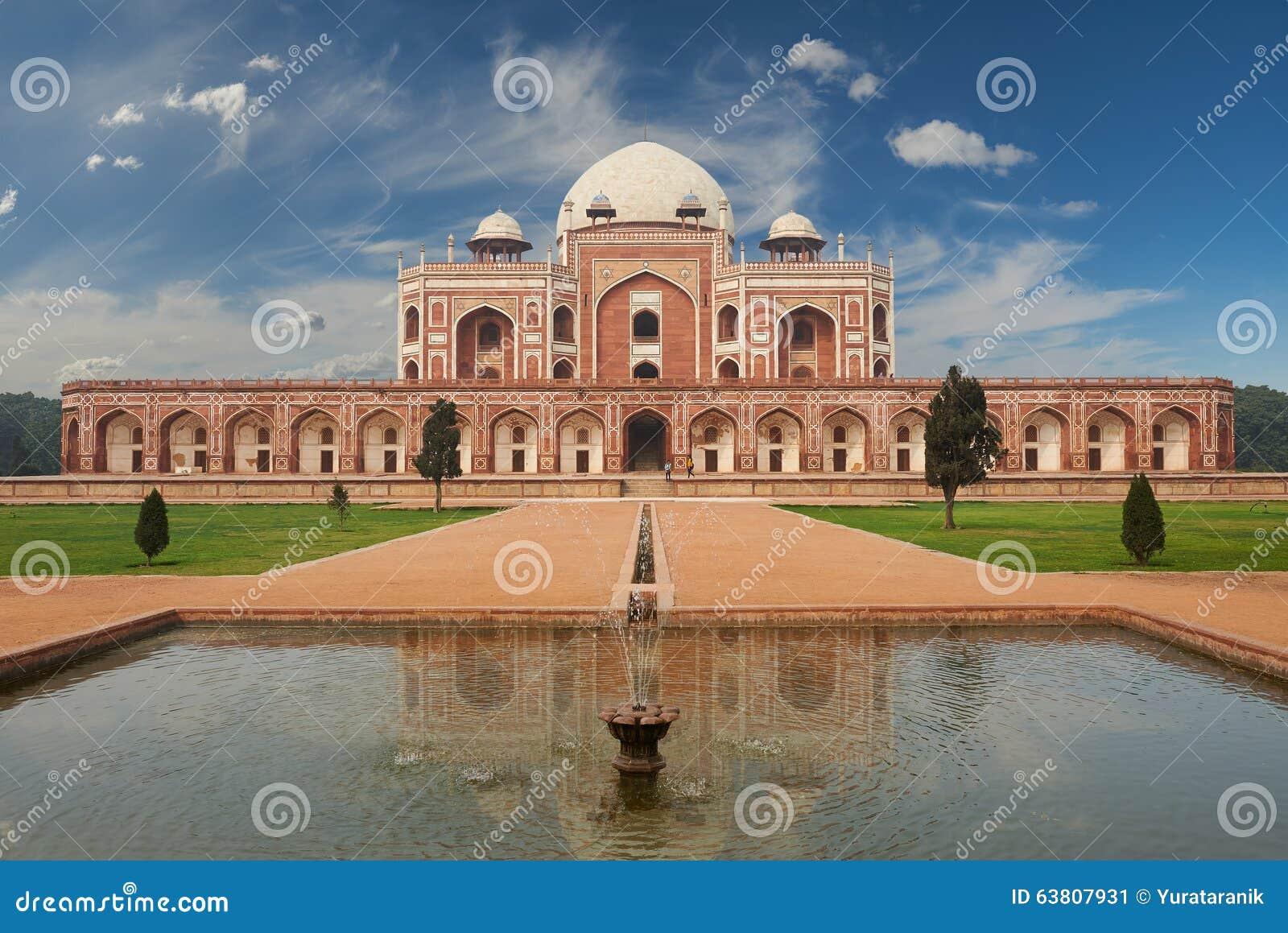 Humayun Tomb New Delhi, la India