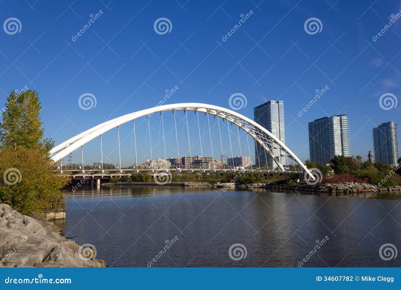 Humber Bridge In Toronto Editorial Photography Image 34607782