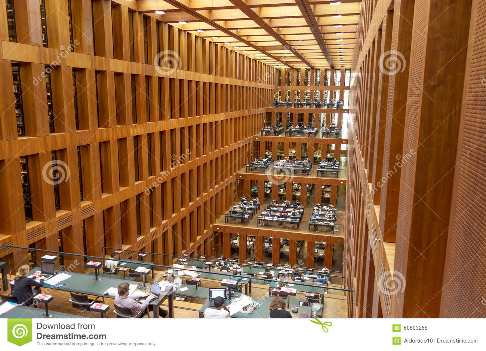 Humboldt University Library in Berlin