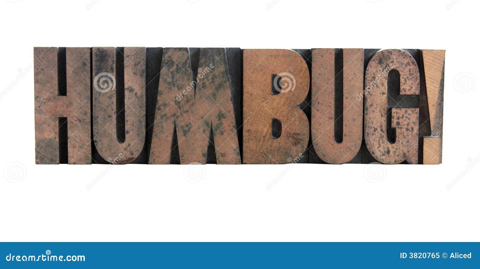 Humbuga letterpress rodzajów drewna