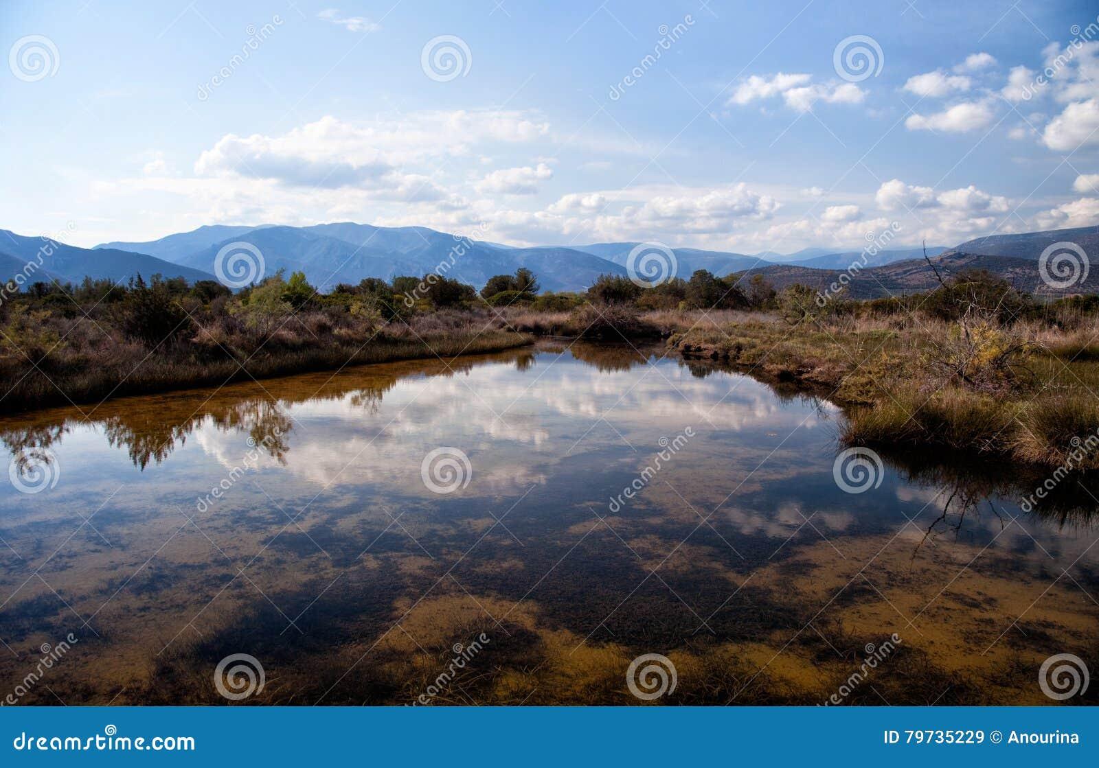 Humedal de Parnon y de Moustos, Peloponeso, Grecia