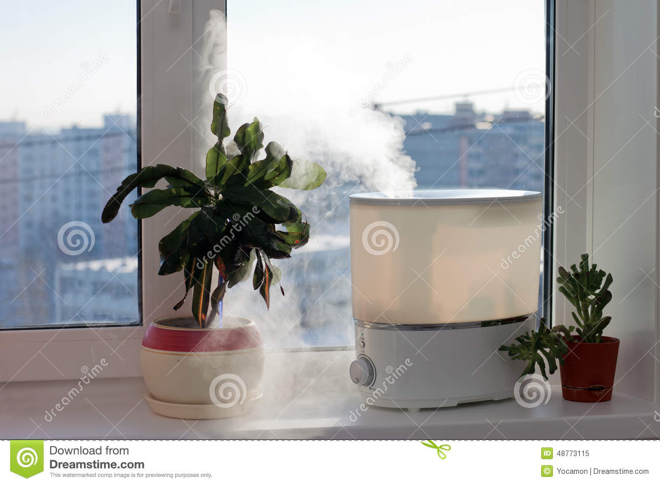 Humidifier stock photo image 48773115 for Living room humidifier
