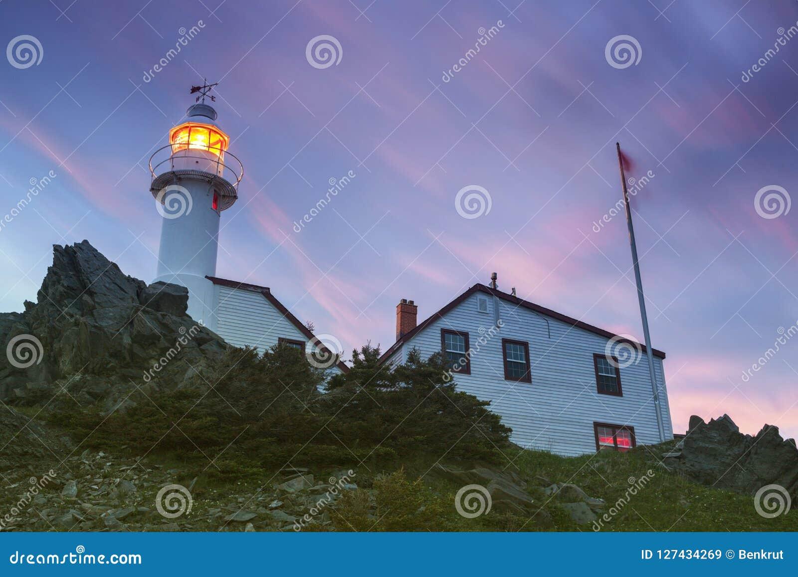 Hummer-Bucht-Kopf-Leuchtturm, Neufundland