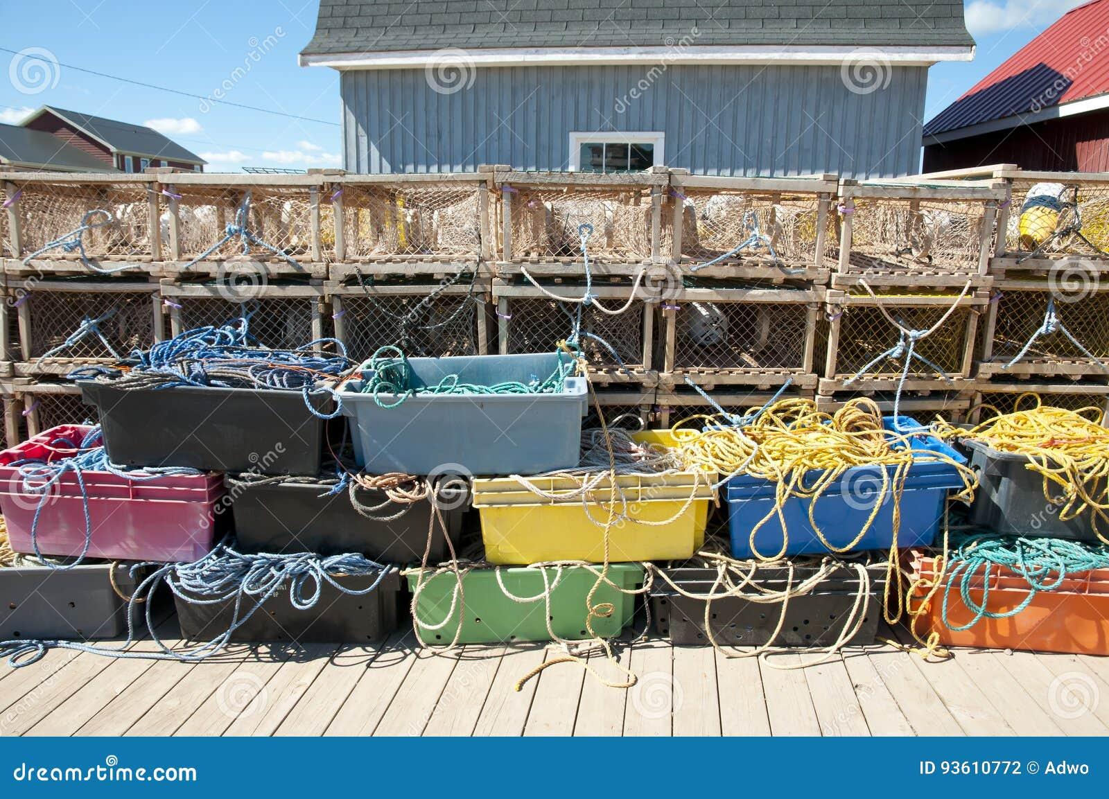 Hummer schließt - Prinz Edward Island - Kanada ein