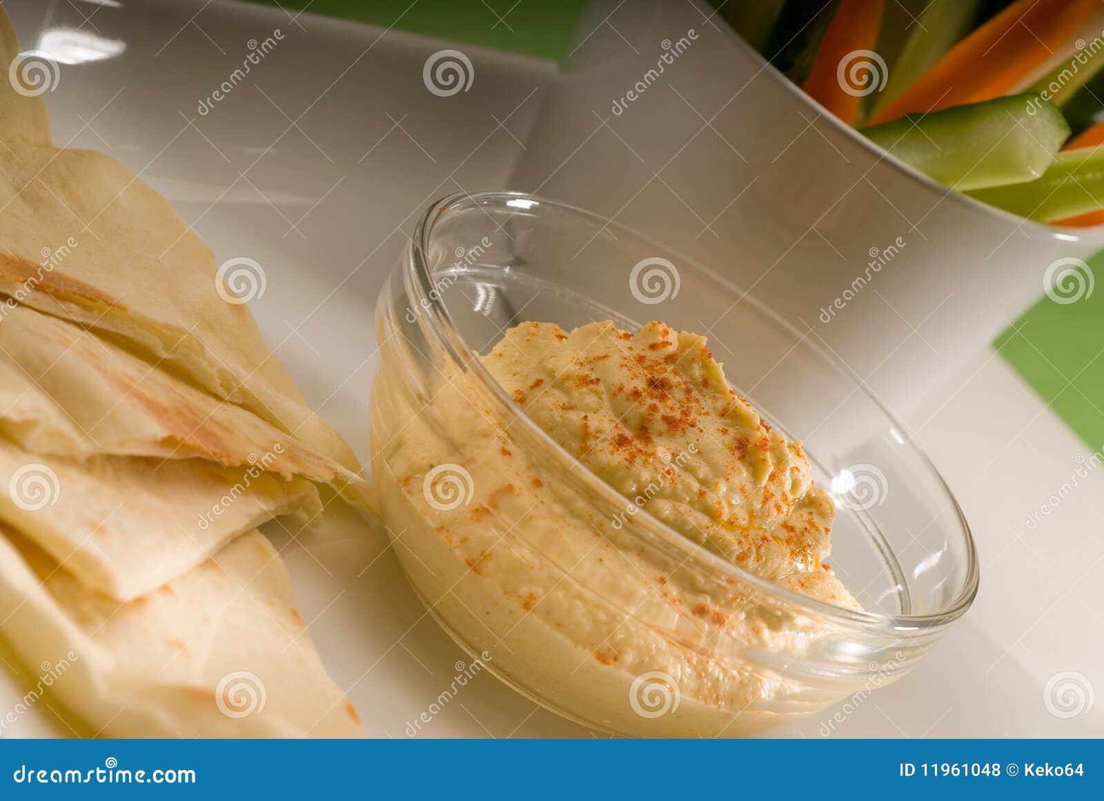Hummus Stuffed Pita With Roasted Vegetables Recipes — Dishmaps
