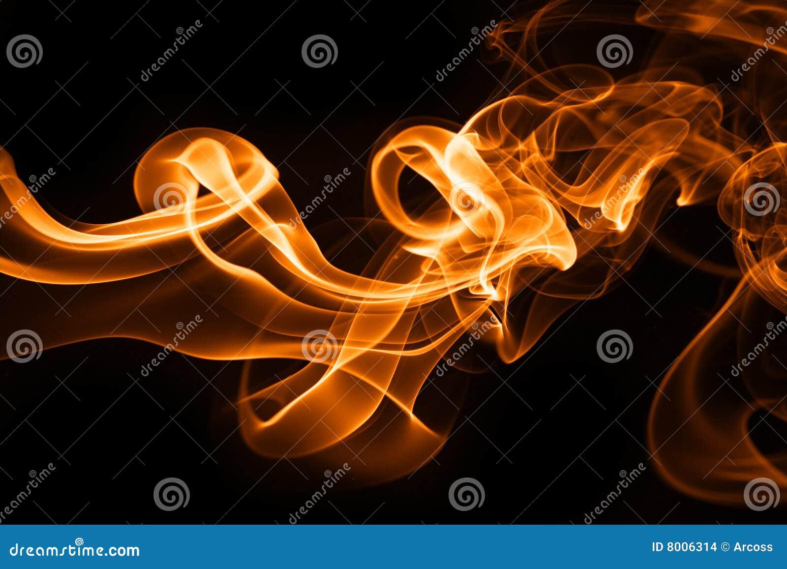 Humo del fuego