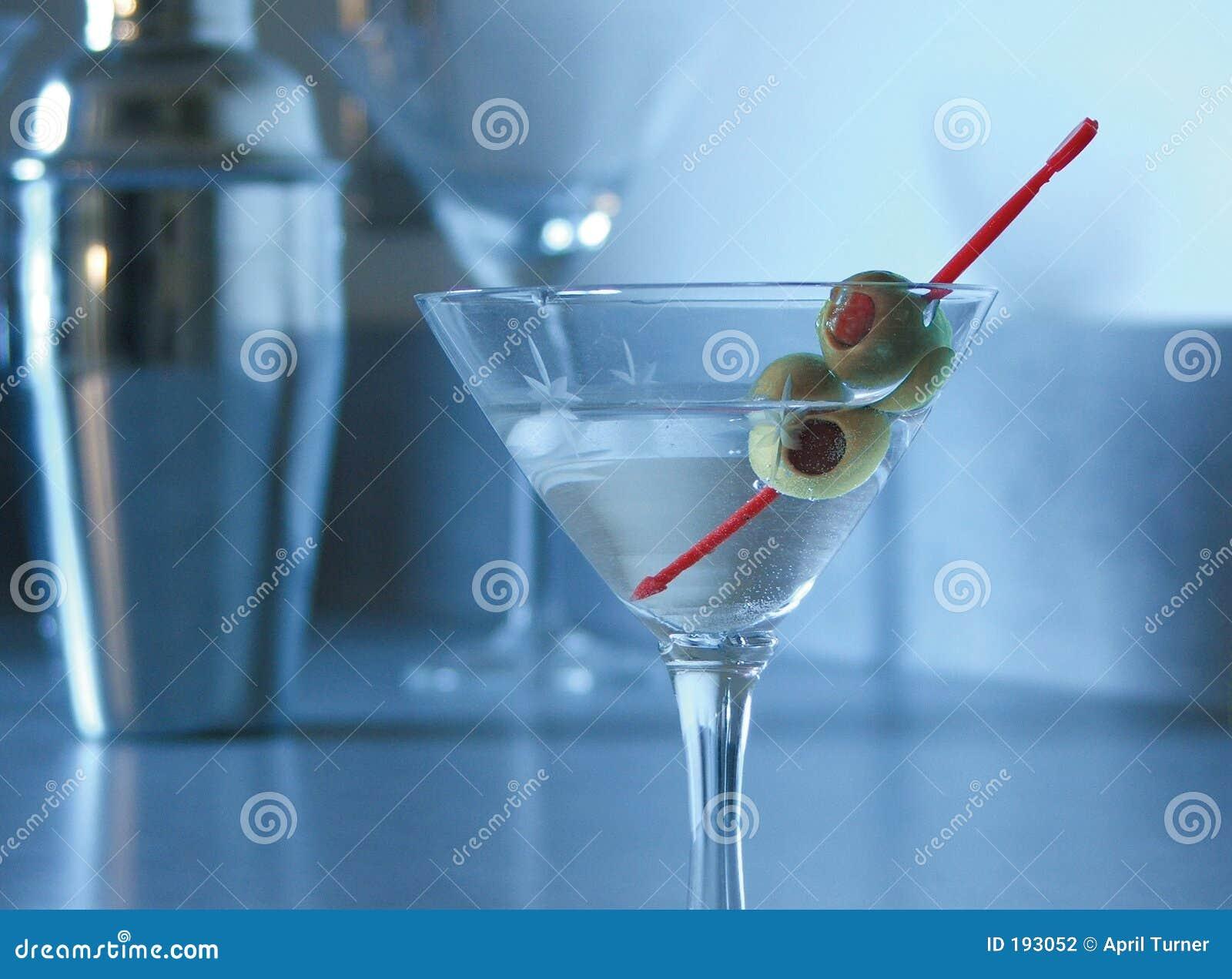 Humor azul Martini