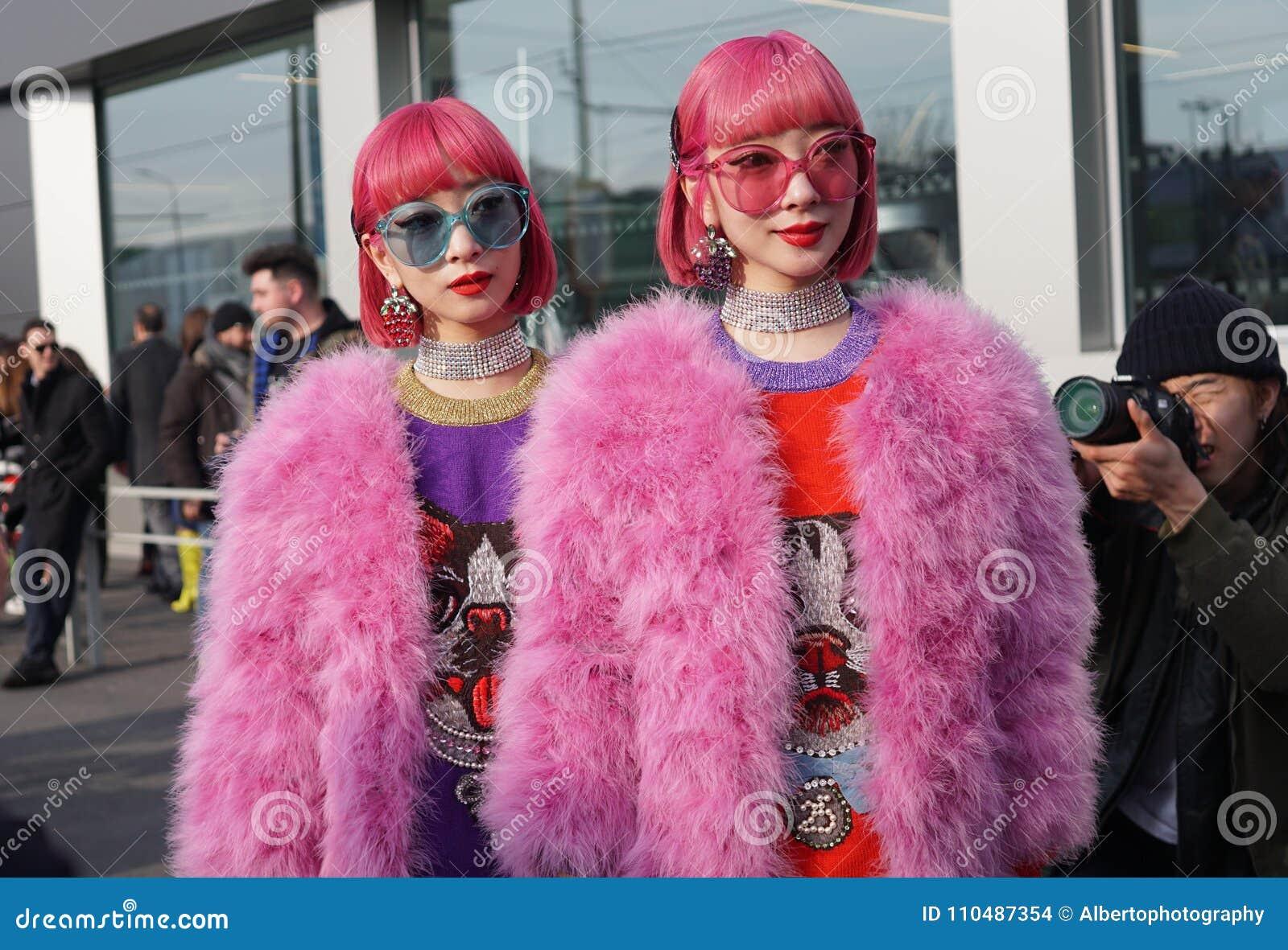 Humor de la semana de la moda de Milano