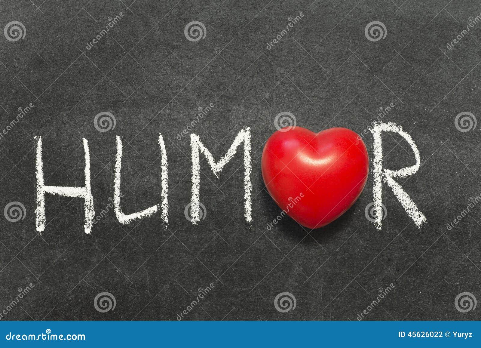 humor word symbol blackboard heart handwritten preview