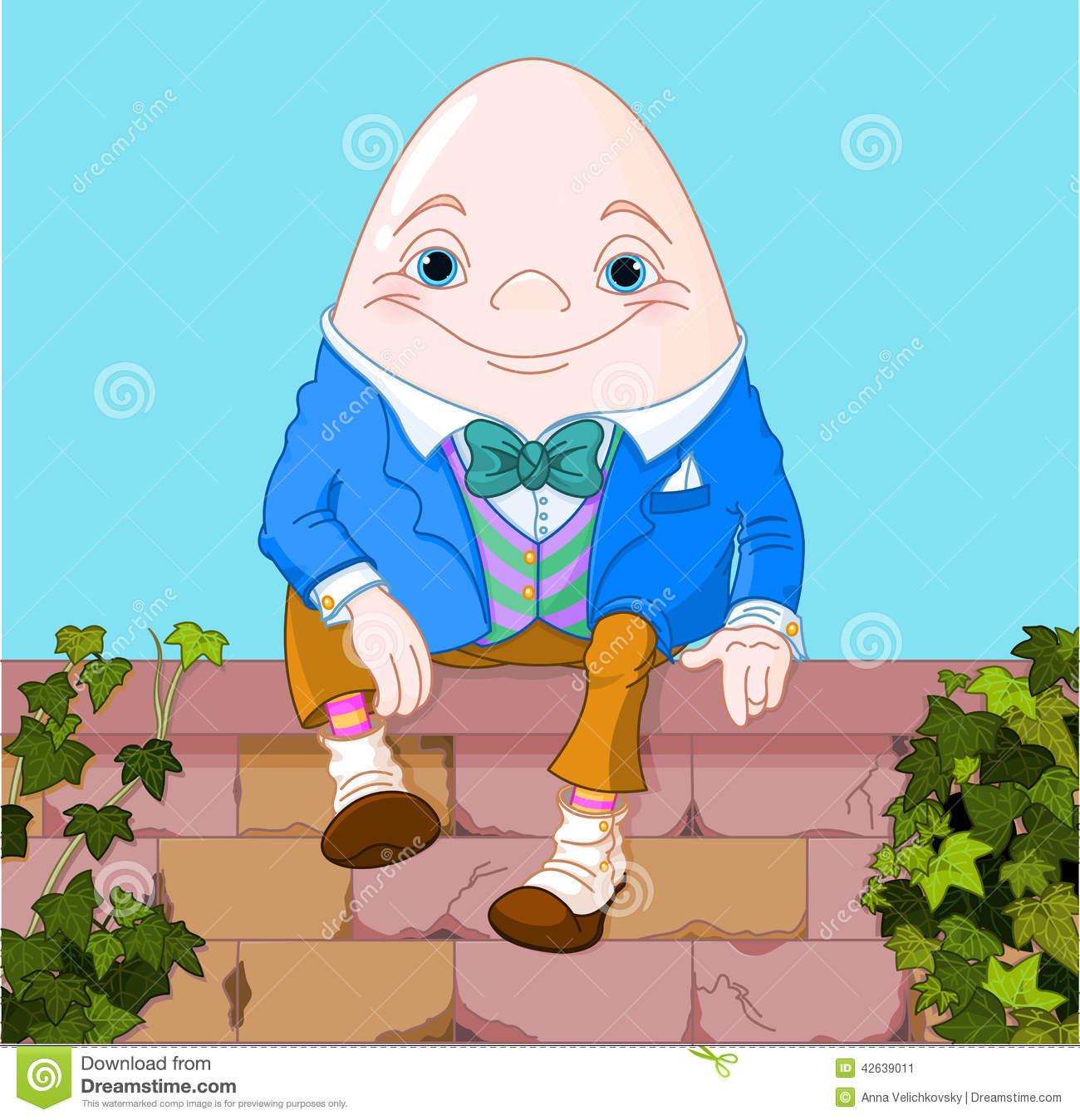 Humpty Dumpty Stock Vector Illustration Of Designs
