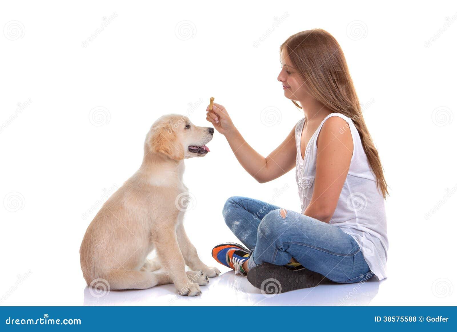 Hund för ägareutbildningsvalp