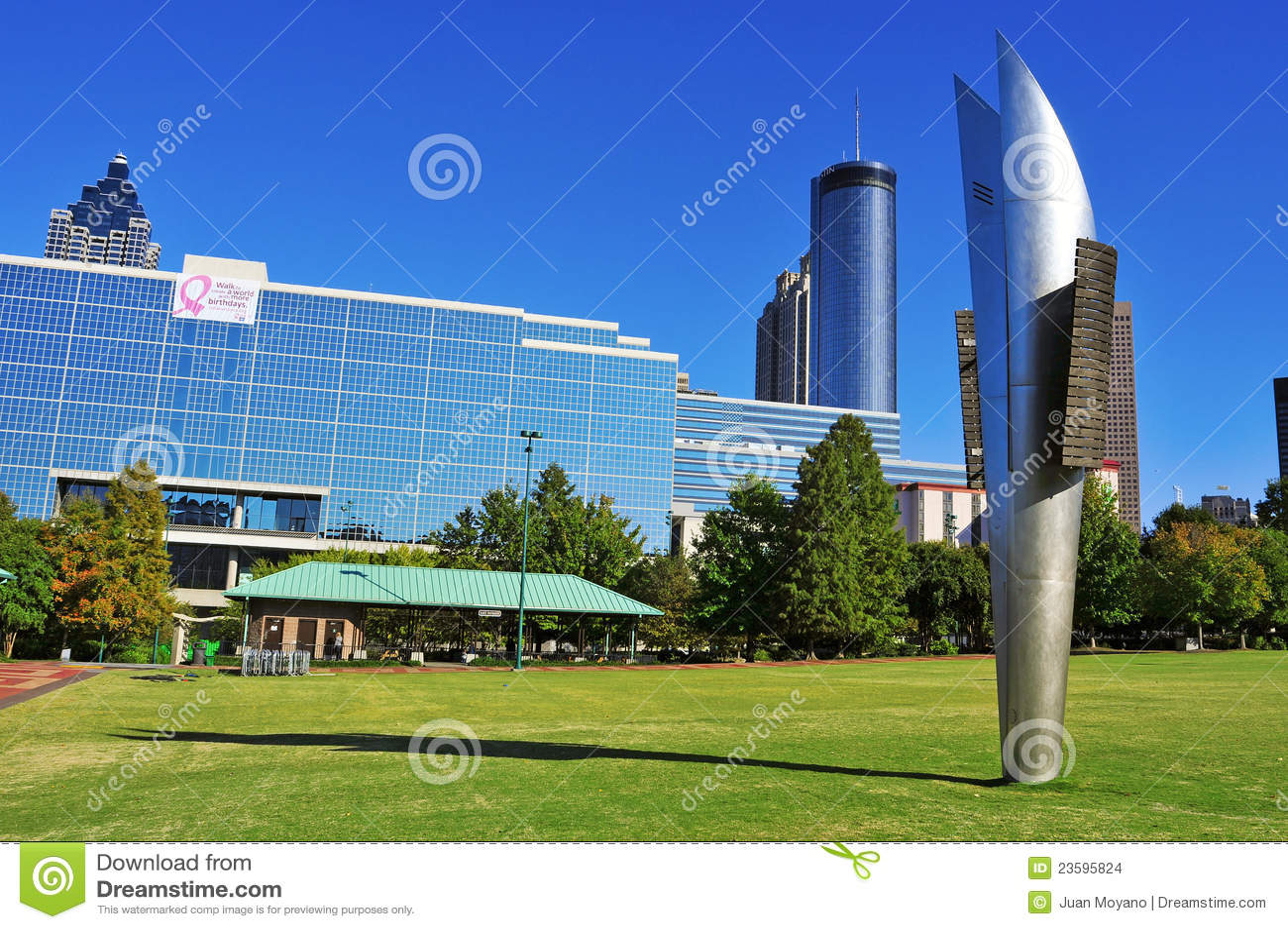 Hundraårs- olympisk Park, Atlanta, United States