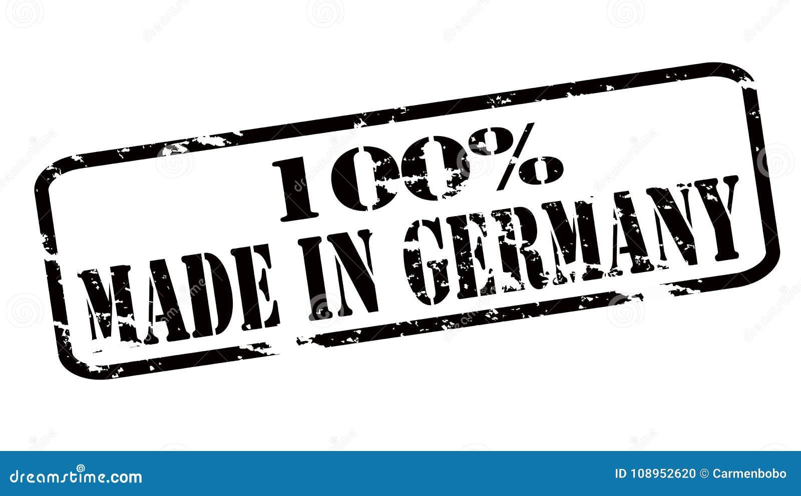 Hundra procent som göras i Tyskland