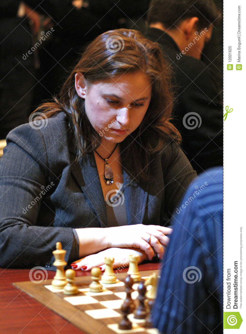 Watch Judit Polgar chess video
