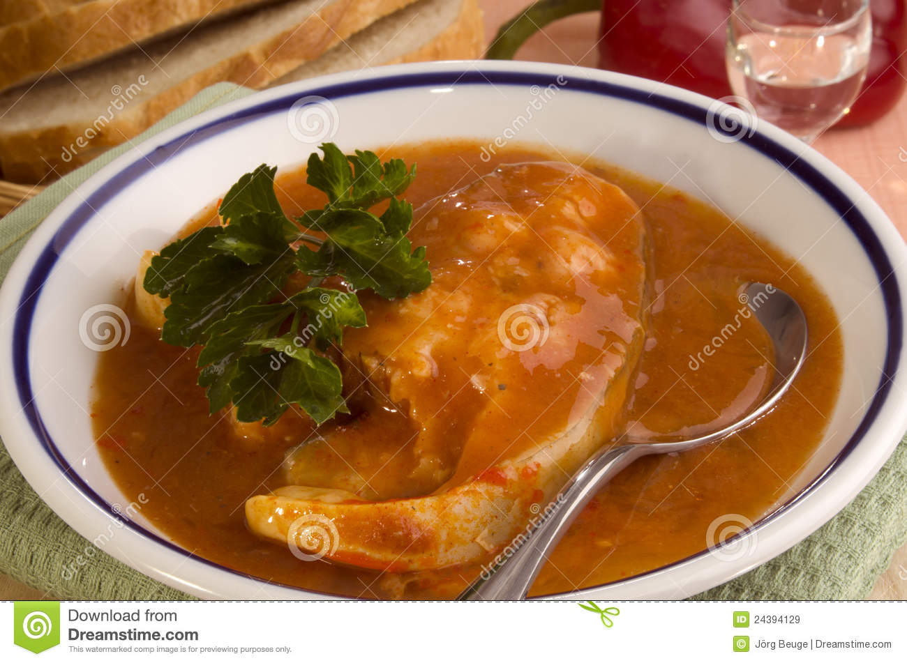 Hungarian Fish Soup Royalty Free Stock Images - Image: 24394129