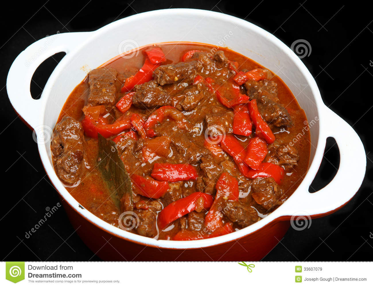 Hungarian Goulash Beef Stew Royalty Free Stock Images - Image ...