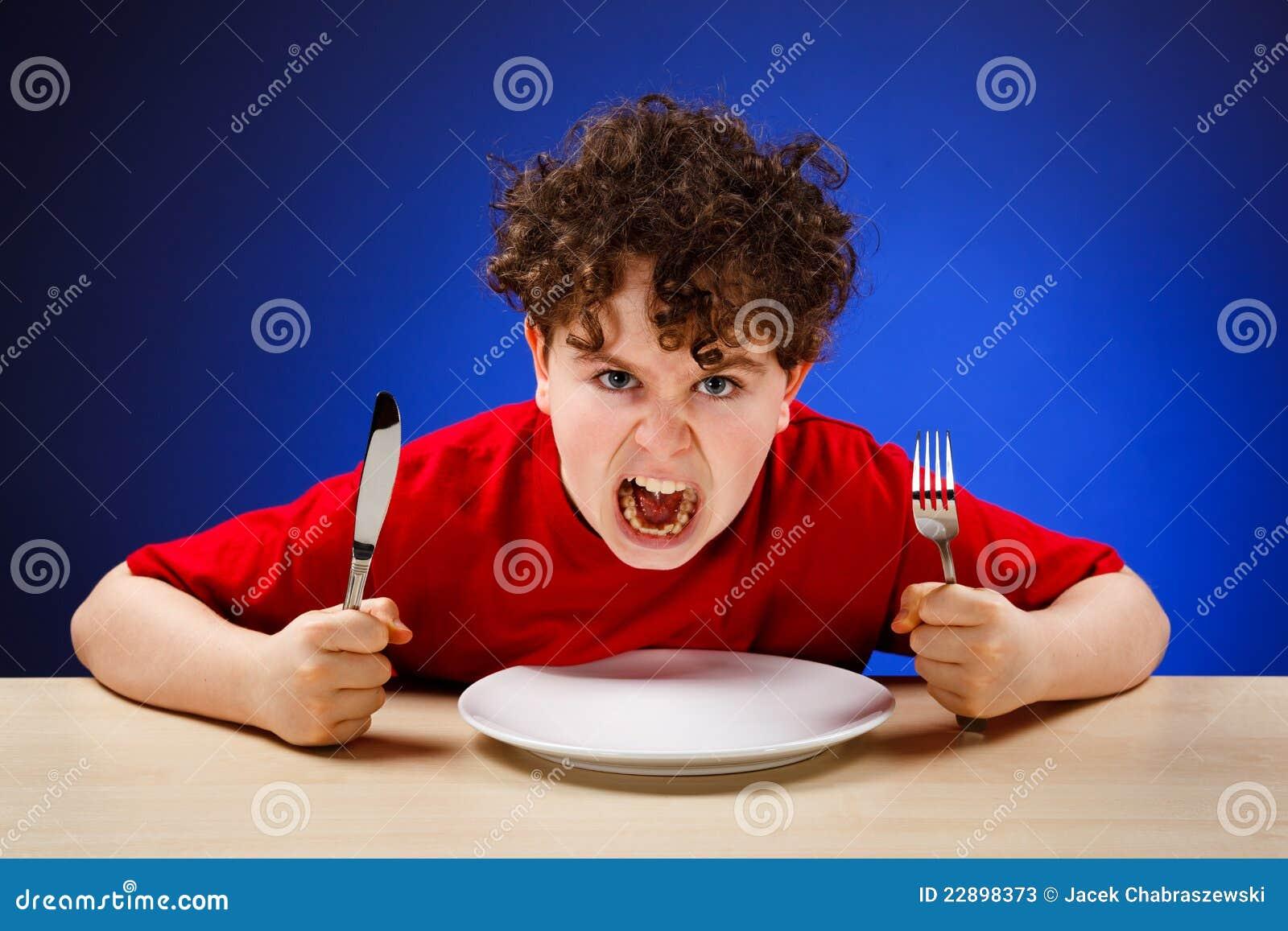 Hungry Boy Stock Photos Image 22898373