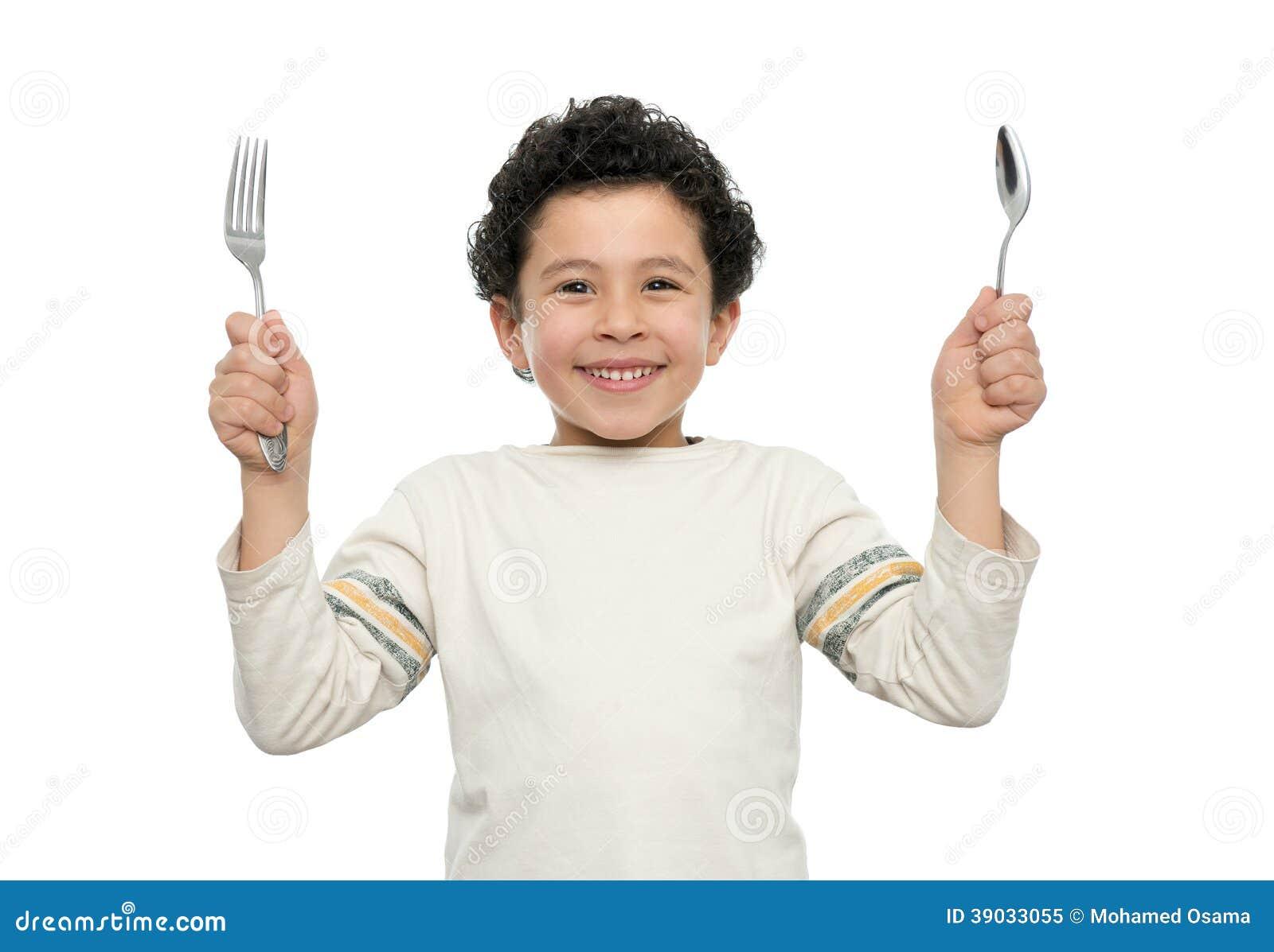 Hungry Boy Stock Photo Image 39033055