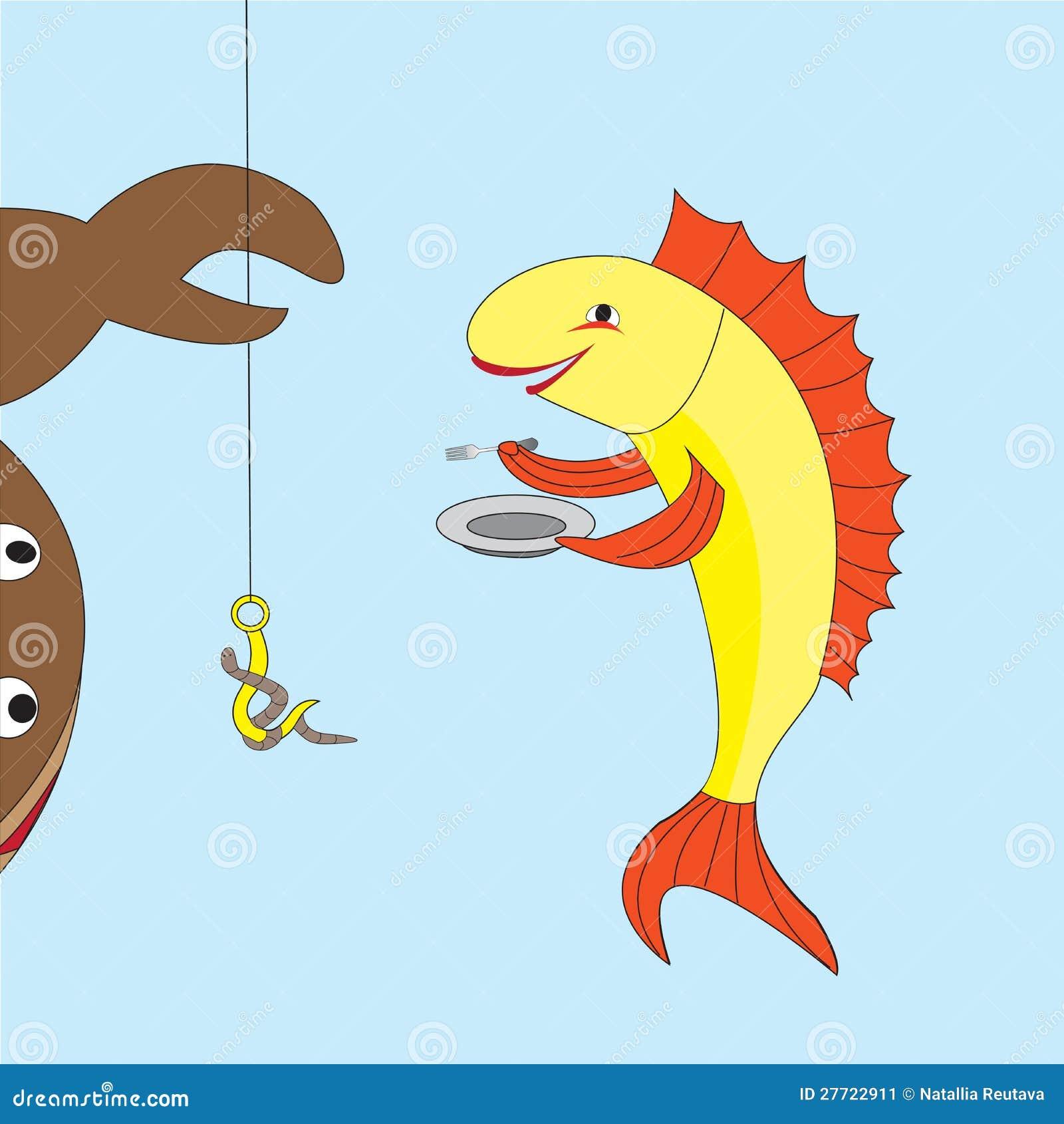 меня, рисунок гармошка или поделка голодная рыбка экскурсию