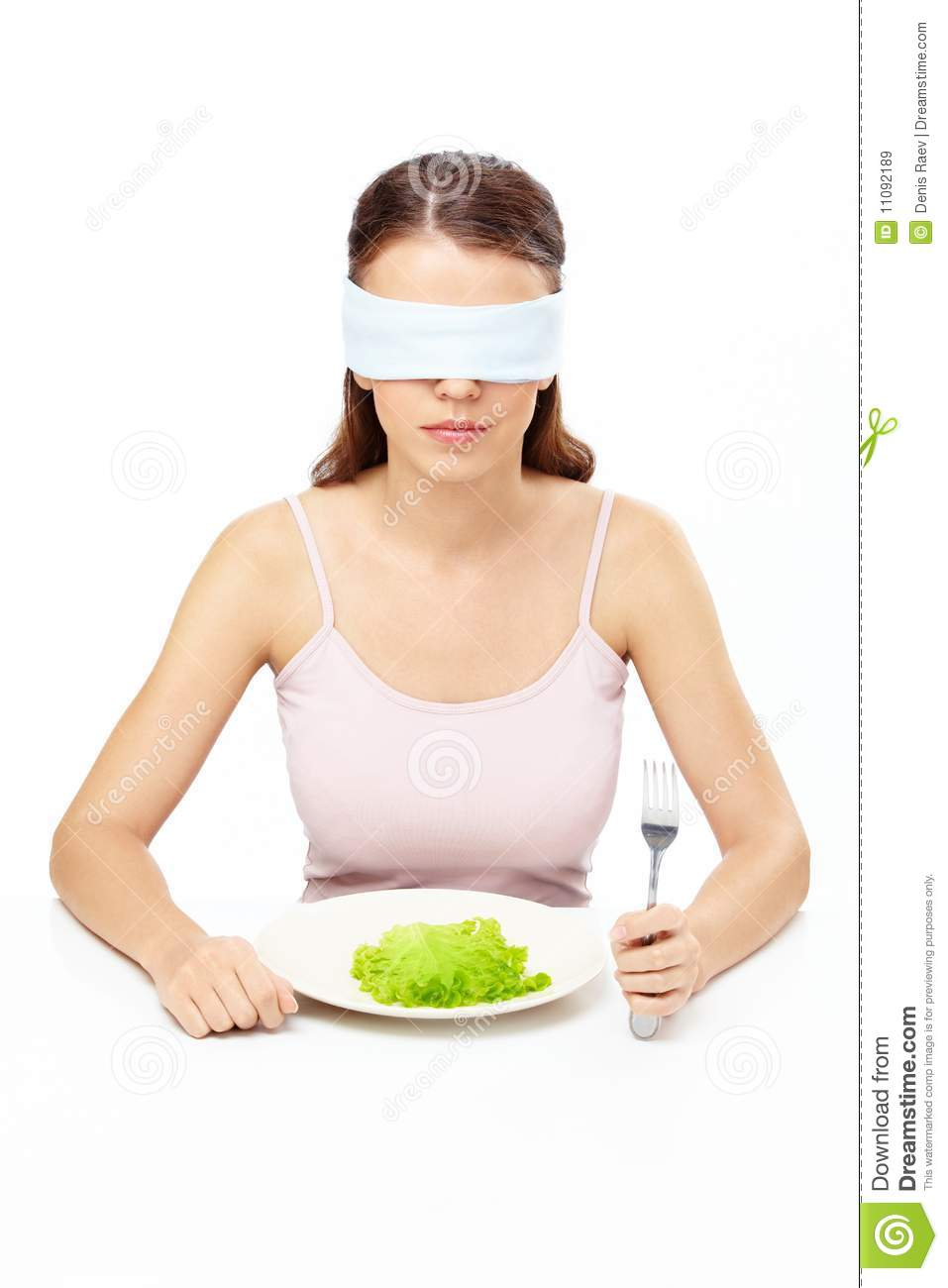 Hungry Girl Royalty Free Stock Images Image 11092189