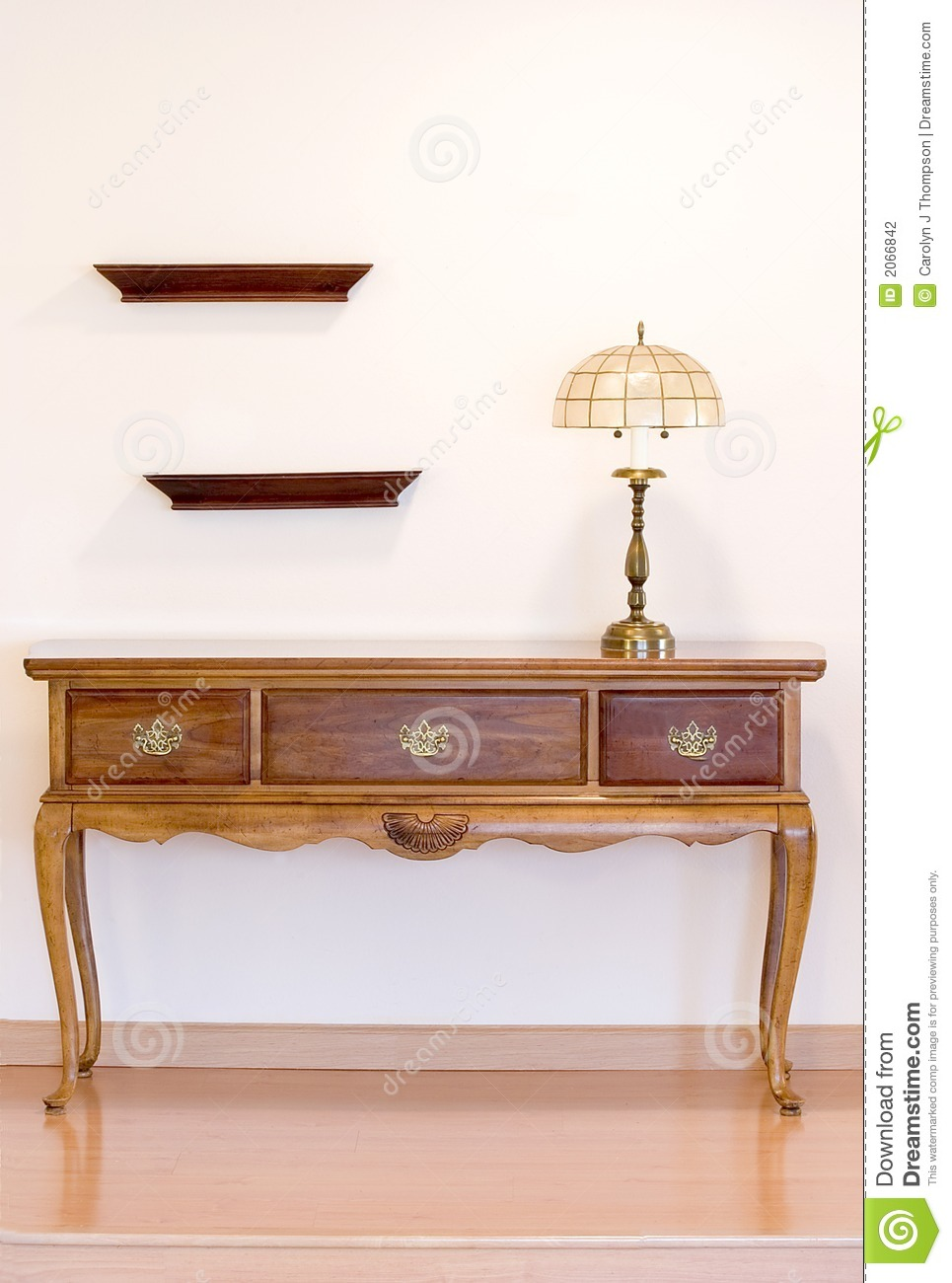 Hunt table with lamp stock photo image of walnut flooring 2066842 hunt table with lamp aloadofball Choice Image