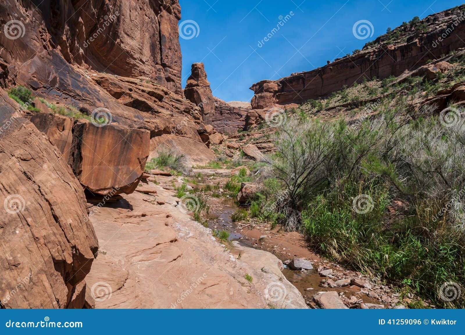 Hunter Canyon Hiking Trail Moab Utah
