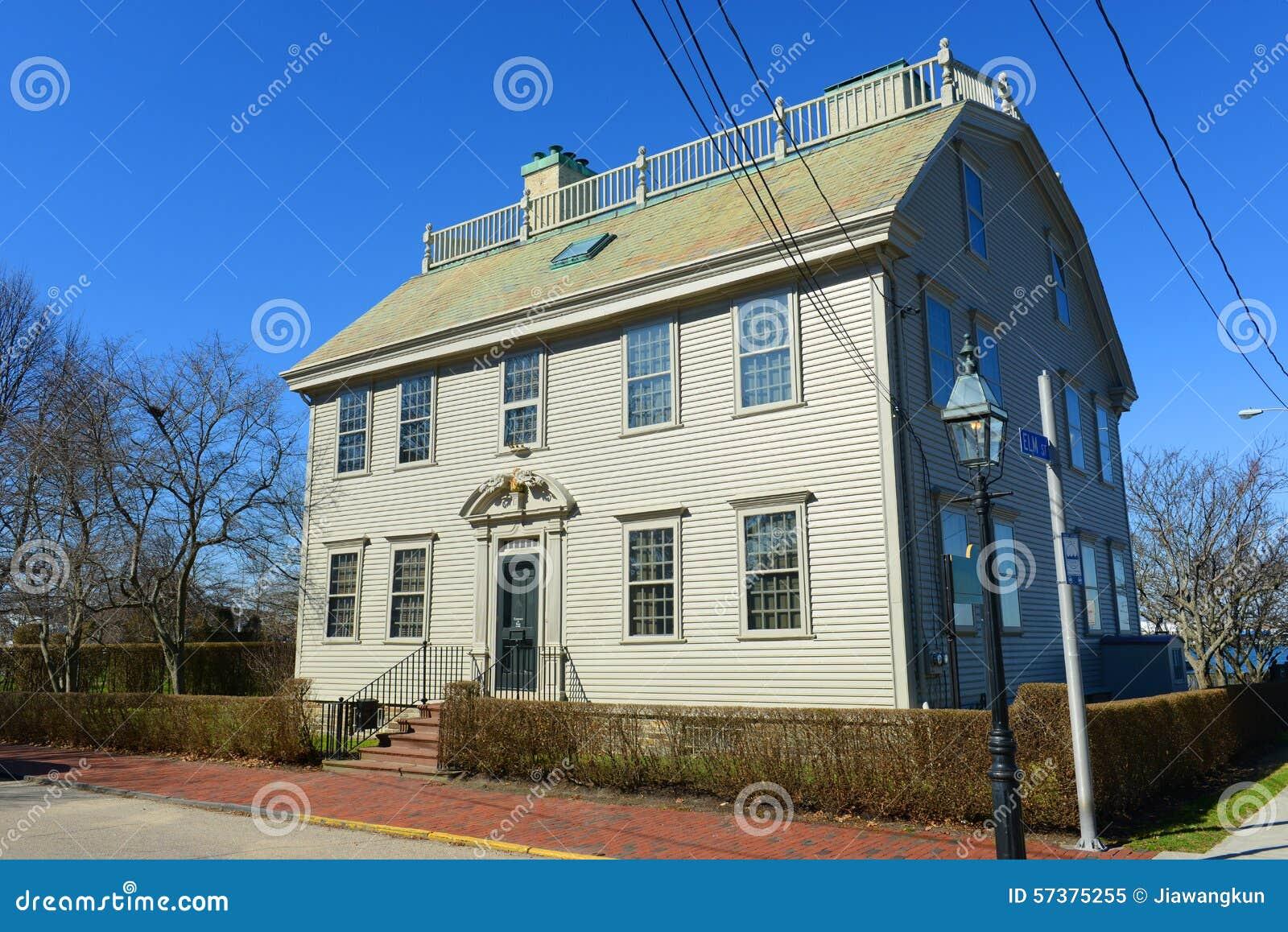 Hunter house rhode island usa stock photo image 57375255 - The home hunter ...