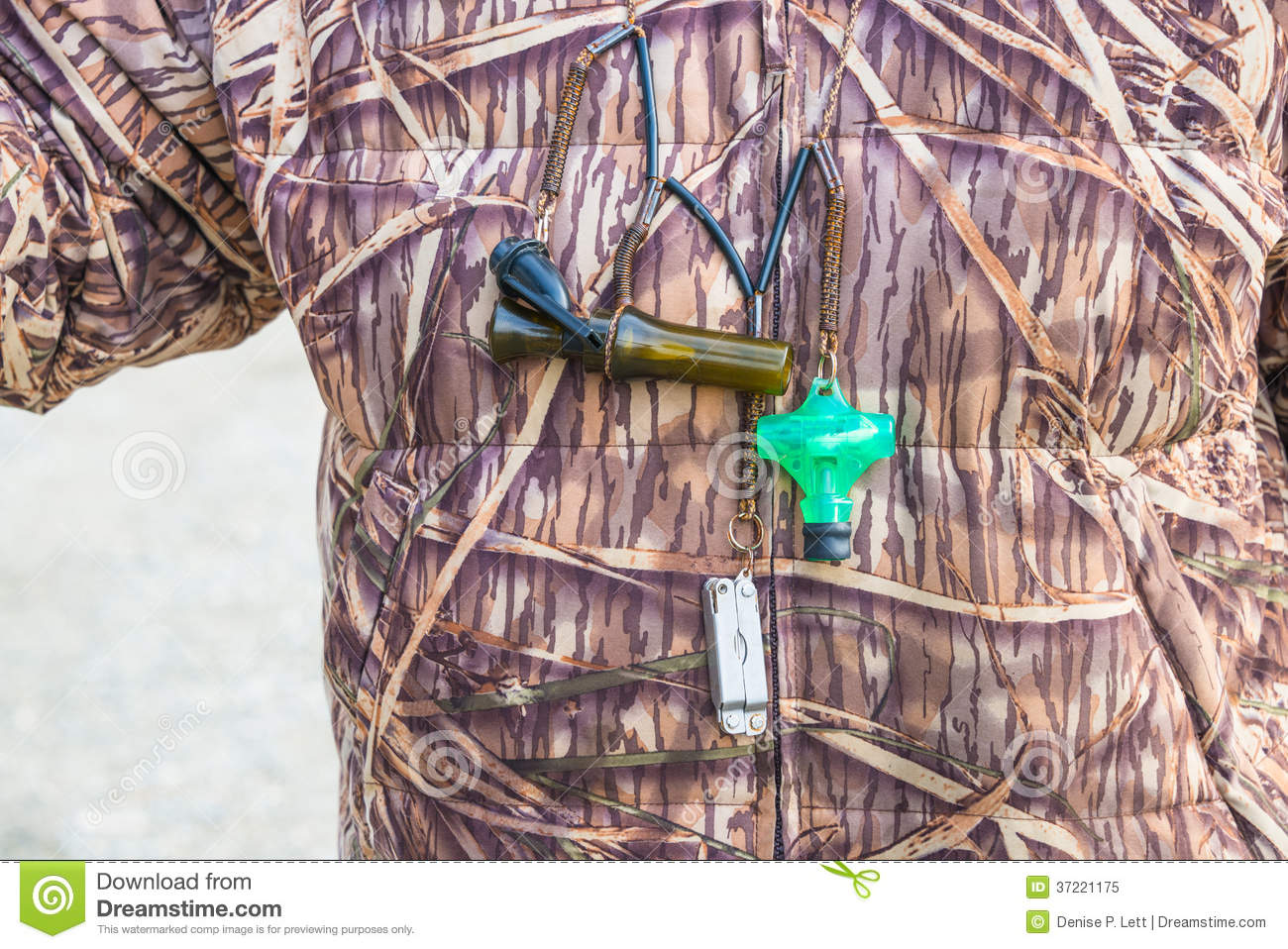 Hunter Hunting Camouflage Duck Calls