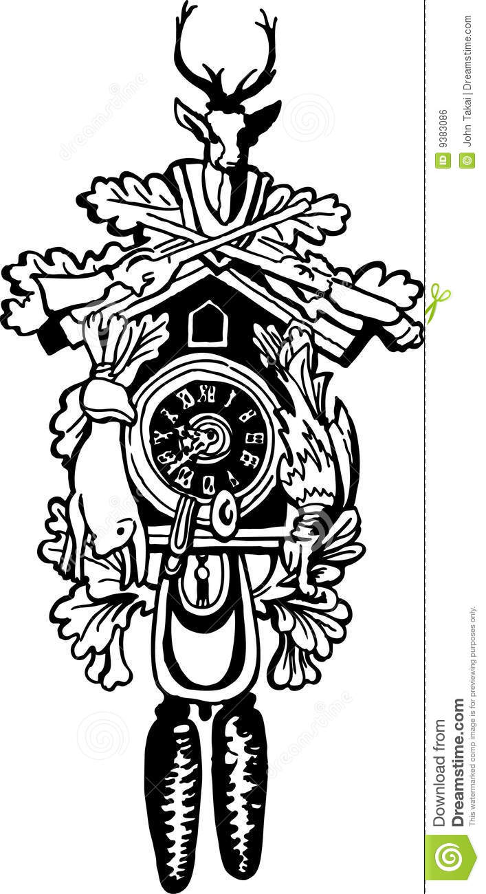 Coo Coo Clock Drawing ... Cuckoo Clock Drawing