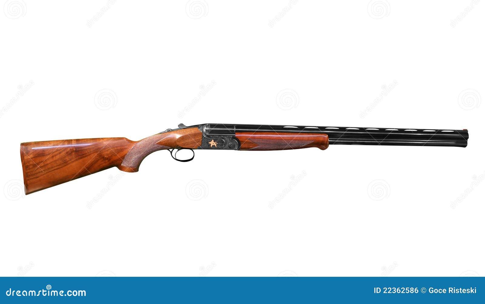 Hunting Shotgun Royalty Free Stock Image - Image: 22362586
