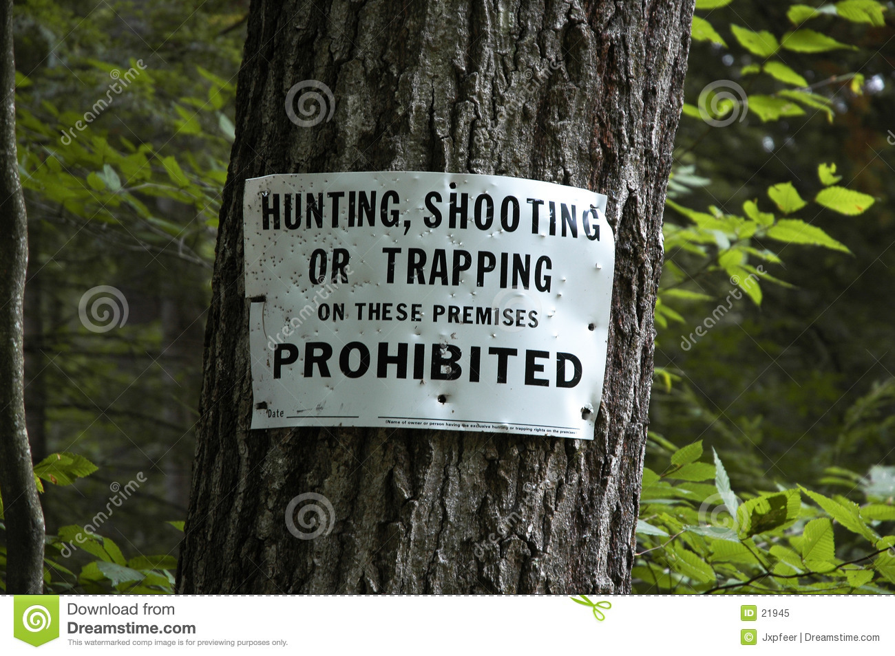 Hunting sign
