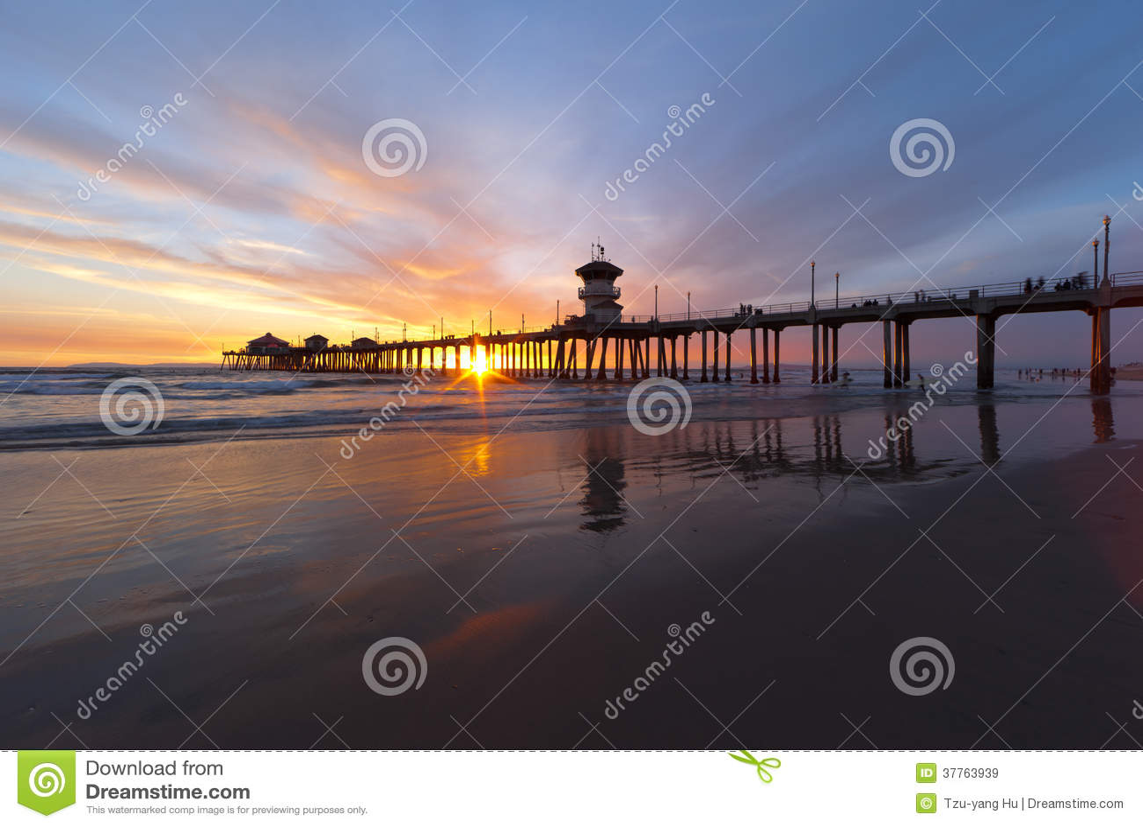 Huntington plaża