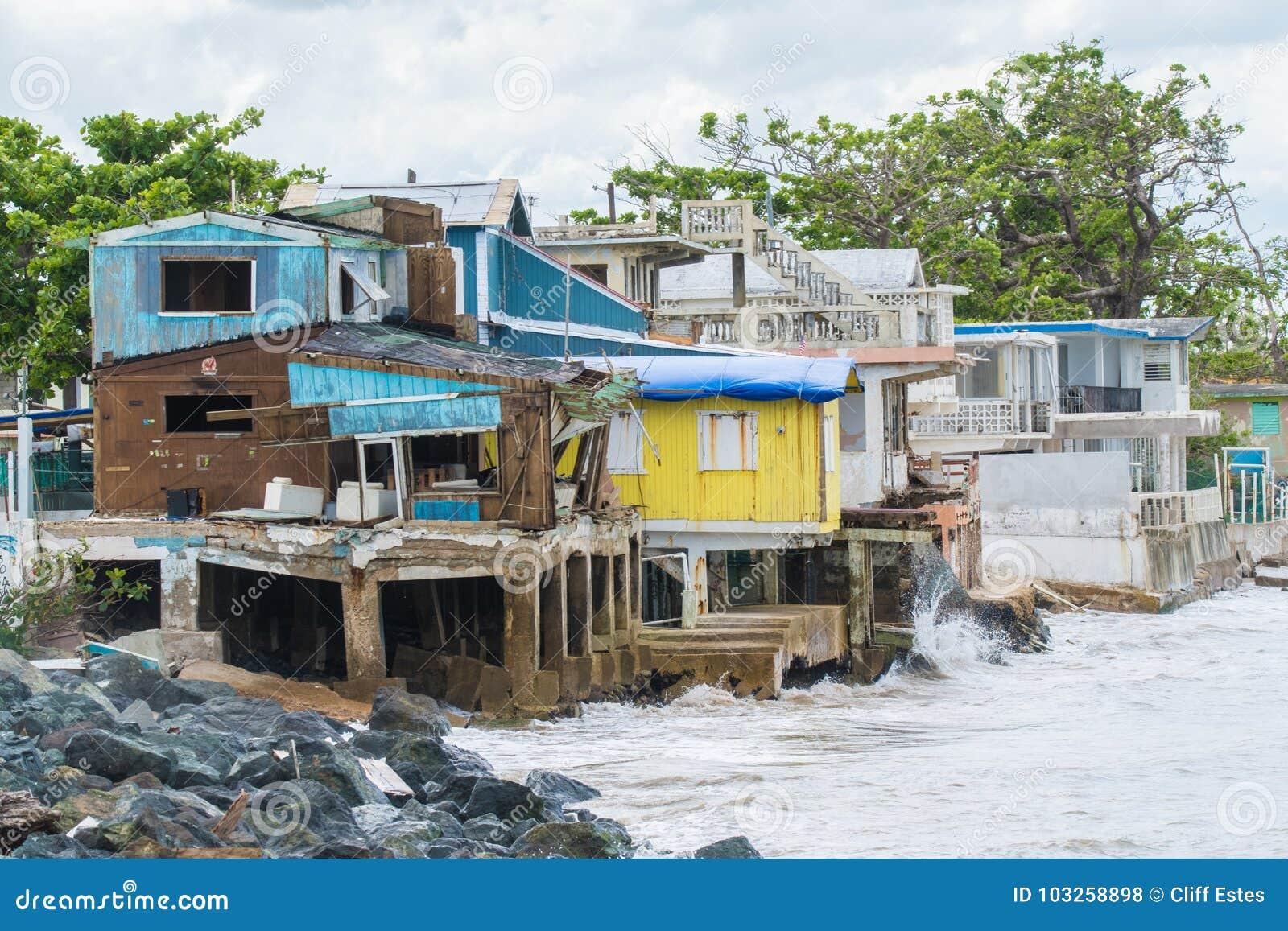 Huracán Maria Damage en Puerto Rico