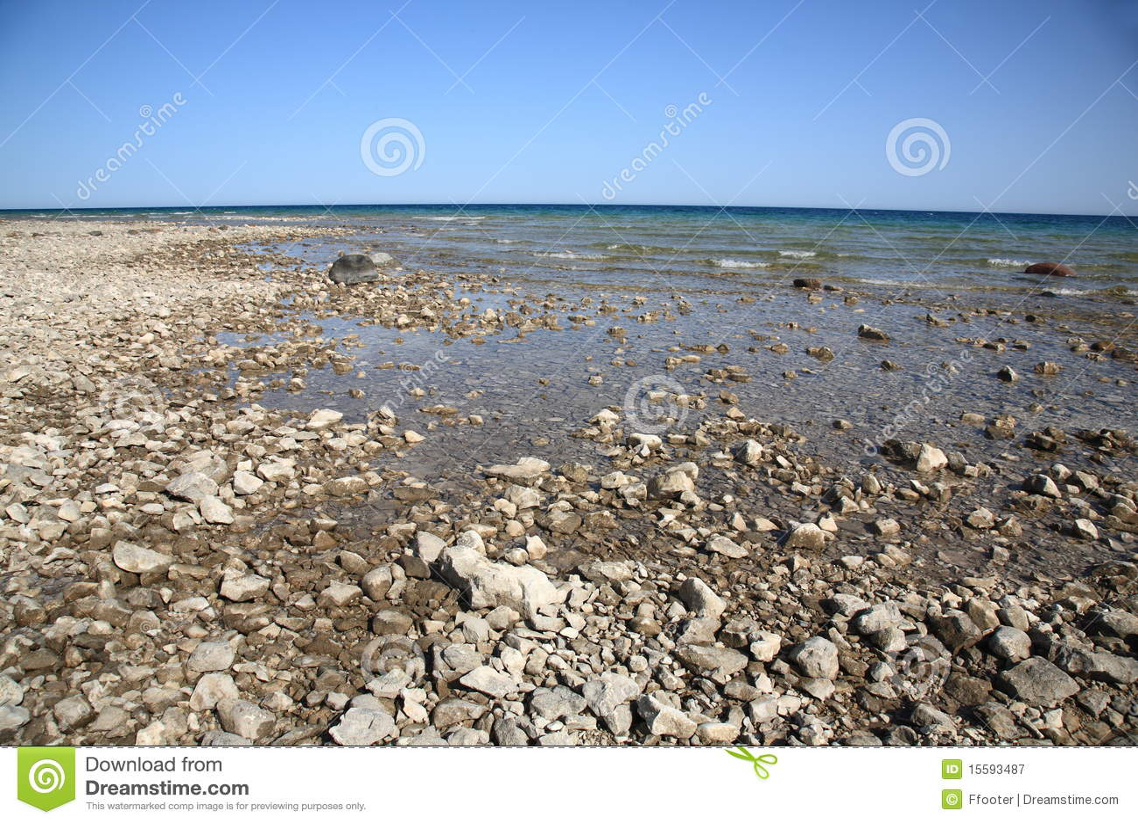 Huron lakeseashore