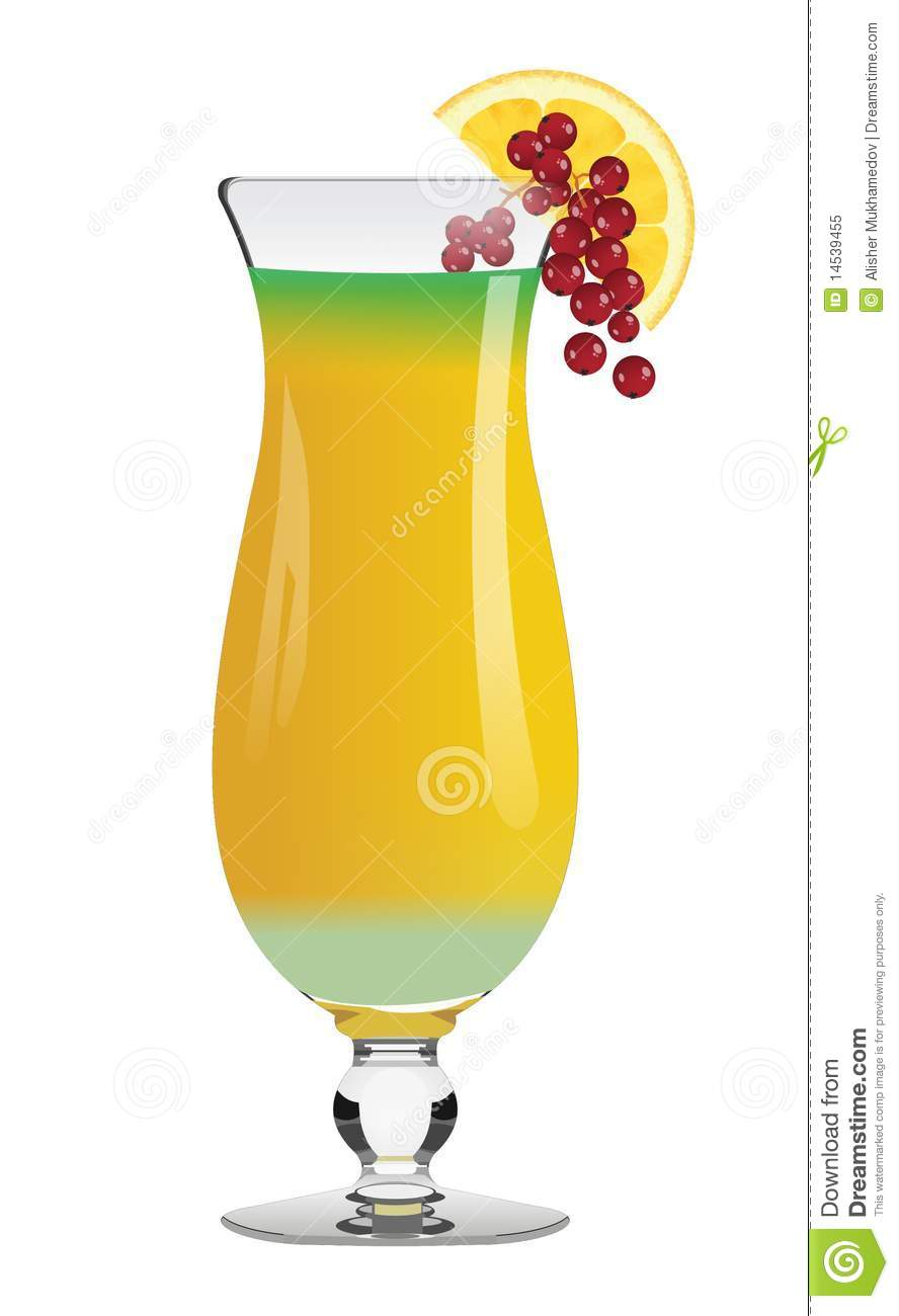 Hurricane Disaster Cocktail Royalty Free Stock Photo - Image: 14539455